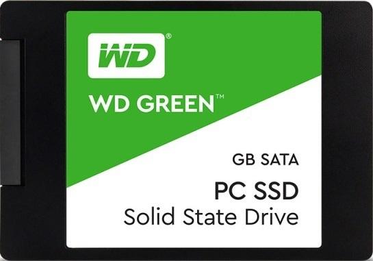 Ổ SSD Western Green 120Gb SATA3 3D NAND (đọc: 545MB/s /ghi: 430MB/s)