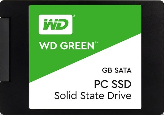 Ổ SSD Western Green 240Gb SATA3 3D NAND (đọc: 545MB/s /ghi: 465MB/s)