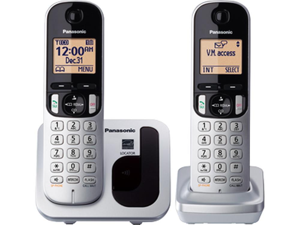Điện thoại kéo dài Panasonic KX-TGC212- Bạc