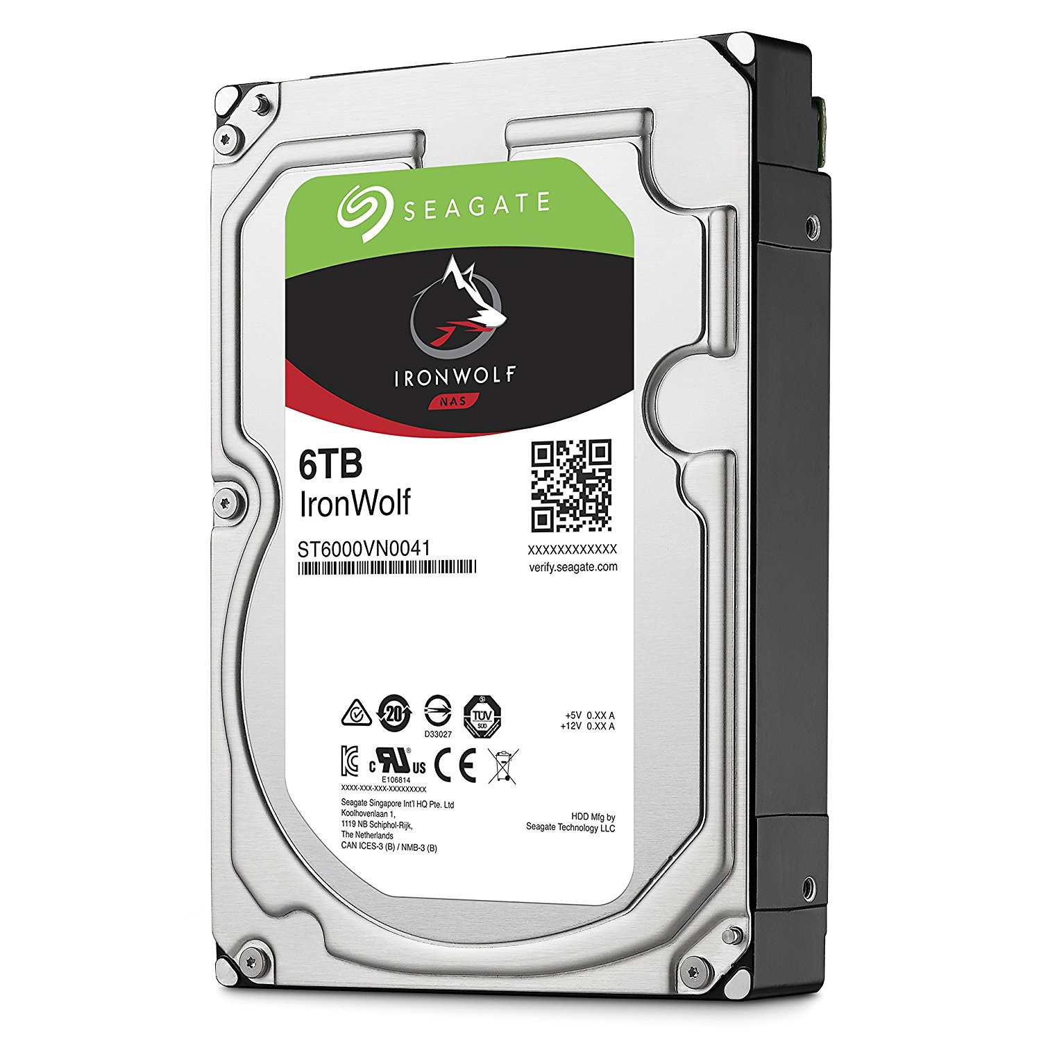Ổ cứng Seagate Ironwolf 6Tb 7200rpm