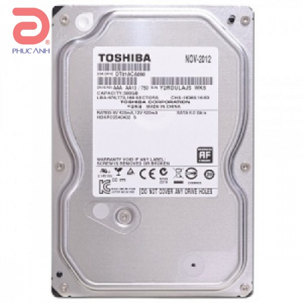 Ổ cứng HDD Toshiba Surveillance 5Tb 7200rpm