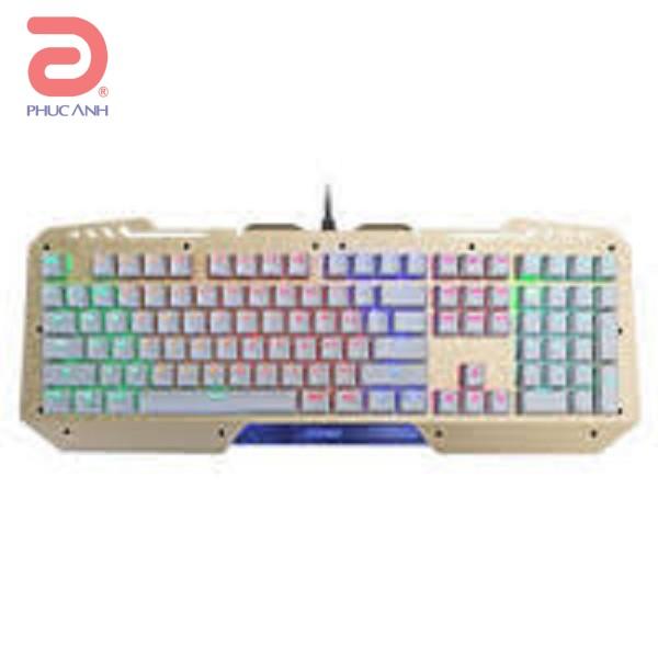 Bàn phím cơ Fuhlen SM690 Led 7 màu Gaming
