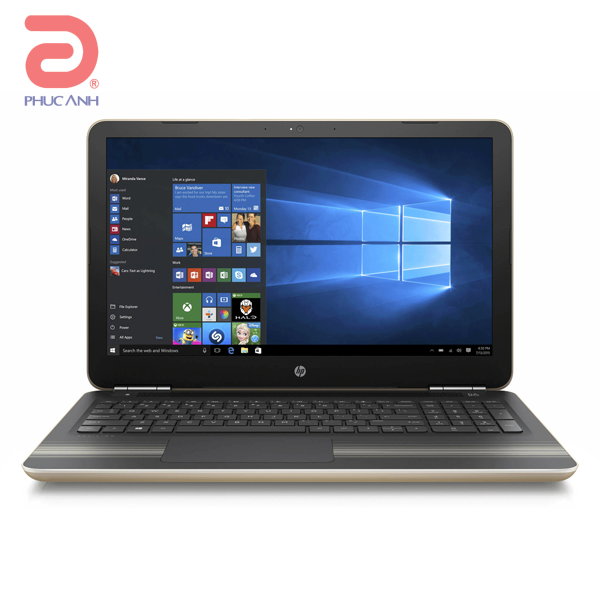Laptop HP Pavilion 15-AU120TU Z6X66PA (Gold)