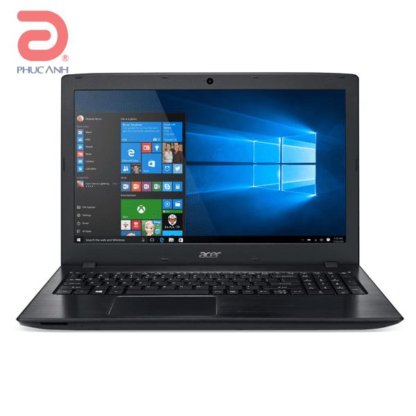 Laptop Acer Aspire E5 575-50HM-NX.GE6SV.003 (Black)- Thiết kế mới, mỏng nhẹ hơn