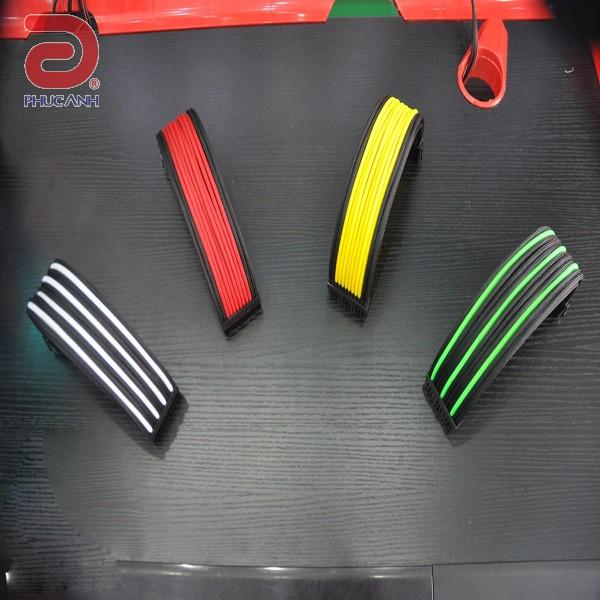 Dây nguồn bọc lưới cho main 24 pin nối dài (multi color)
