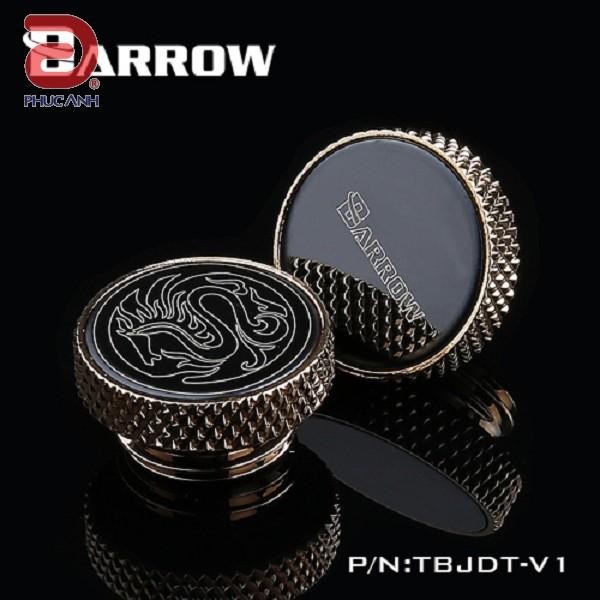 Fitting Barrow Stop Logo (Mặt rồng/Logo BR, đen)