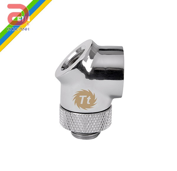 Ống nối Fit 90 Adapter Chrome Thermaltake Pacific G1/4 OD