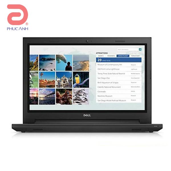 Laptop Dell Inspiron 3567A-P63F002-TI36100 (Black)- Intel Kabylake hoàn toàn mới