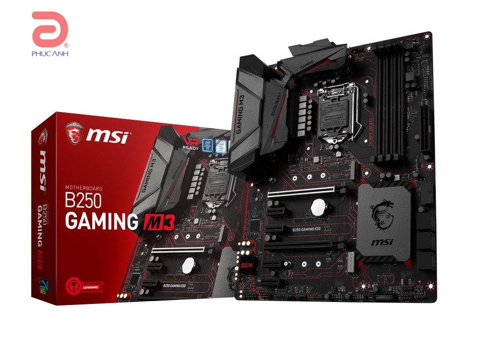 Main MSI B250 GAMING M3 (Chipset Intel B250/ Socket LGA1151/ VGA onboard)