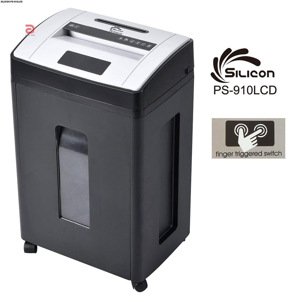 Máy hủy tài liệu Silicon PS910LCD