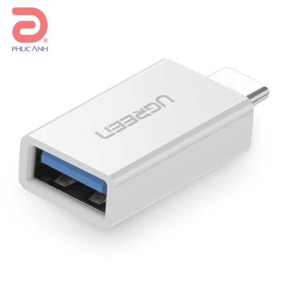 Đầu chuyển Ugreen 30155 USB-C (Type C) sang USB 3.0 (âm)