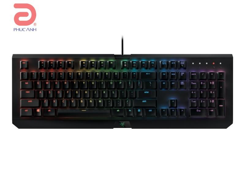 Bàn phím cơ Razer BlackWidow X Chroma (USB, Có dây)