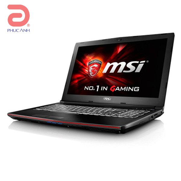 Laptop MSI GP62 7QF 1812XVN (Black)