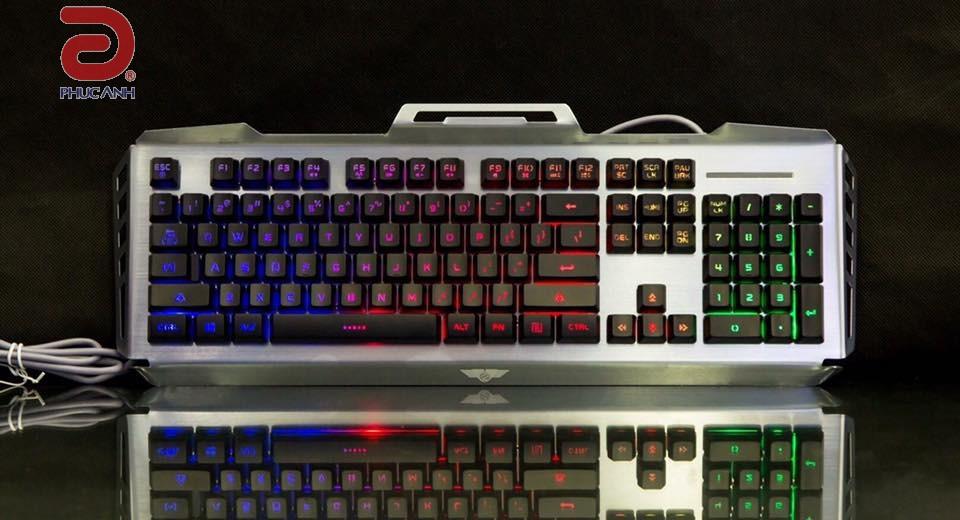 Bàn phím bán cơ Newmen GM816 Gaming (USB, Có dây bán cơ)
