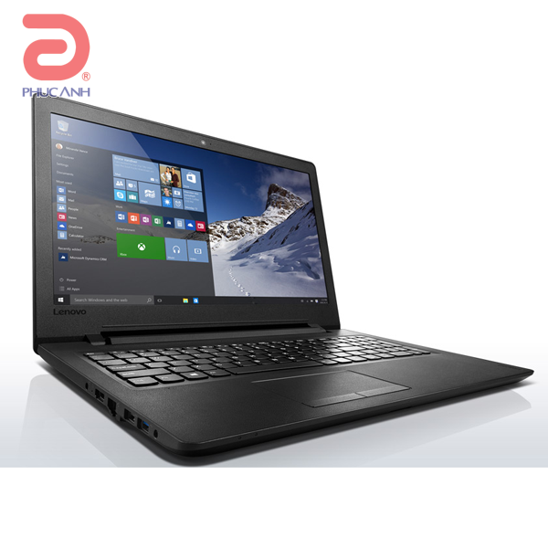 Laptop Lenovo Ideapad 110-15ISK 80UD00JEVN (Black)- Mỏng nhẹ,bàn phím bo góc