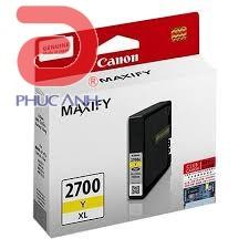 Mực hộp máy in phun Canon PGI-2700Y XL