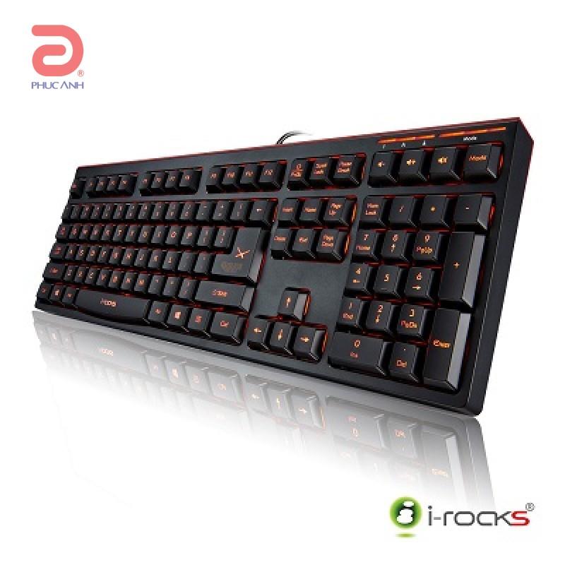 Bàn phím bán cơ I-Rocks IRK50E Gaming (USB, Có dây)