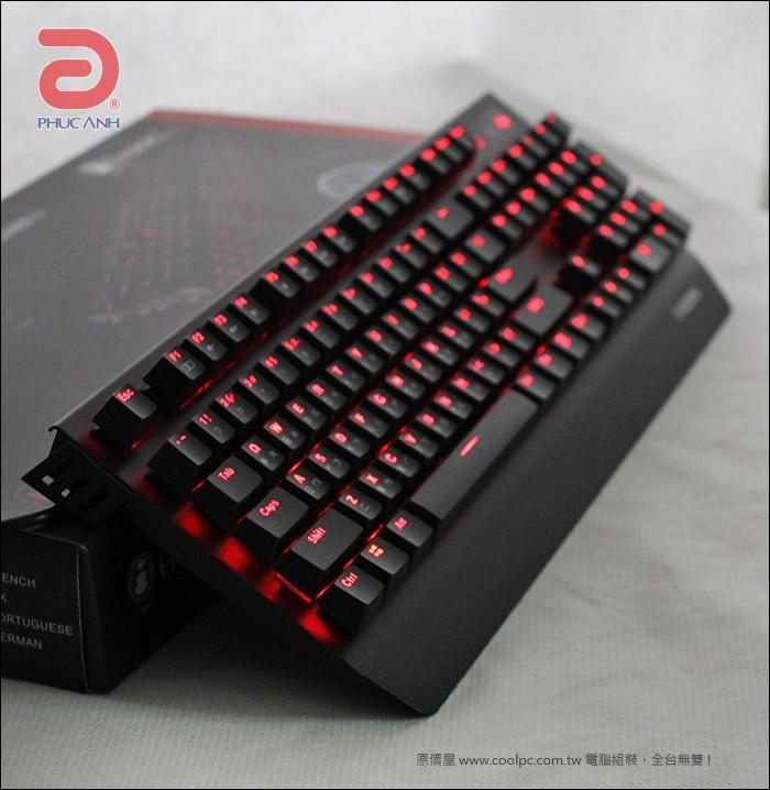 Bàn phím bán cơ I-Rocks IRK60M Gaming (USB, Có dây)