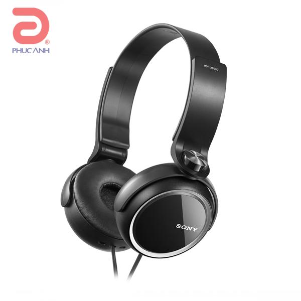 Tai nghe Sony MDR XB250 (Đen)