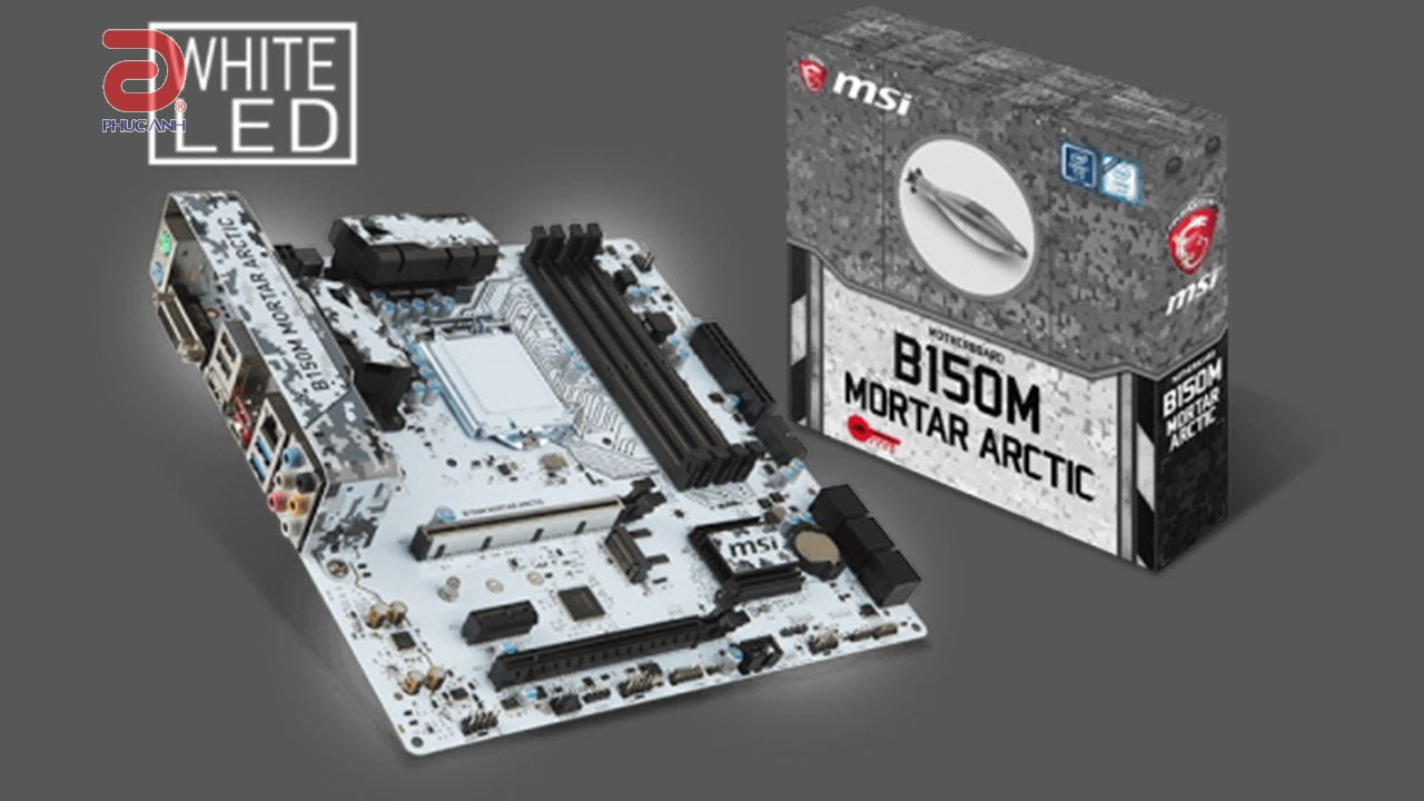 Main MSI B150M MORTAR ARCTIC (Chipset Intel B150/ Socket LGA1151/ VGA onboard)