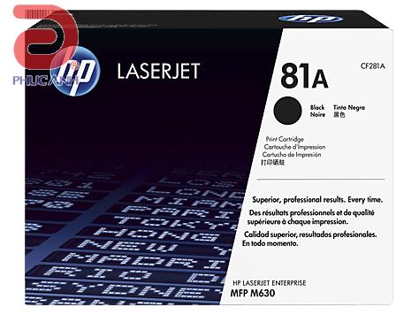 Mực hộp máy in laser HP CF281A cho máyHP M604n/M604dn/M605n/M605dn/M605x/M606dn/M630f/M630z/M630h