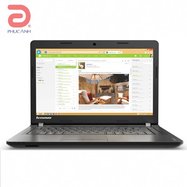 Laptop Lenovo IdeaPad 100-80RK004PVN (Black)- Mỏng nhẹ,bàn phím bo góc