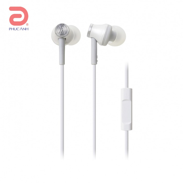 Tai nghe Audio Technica ATH-CK330IS (Trắng)