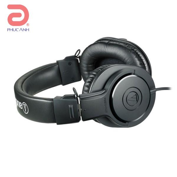 Tai nghe Audio Technica ATH-M20X (Đen)