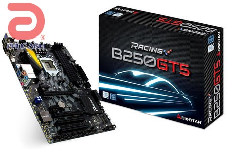 Biostar Racing B250GT5 (Chipset Intel B250/ Socket LGA1151/ VGA onboard)