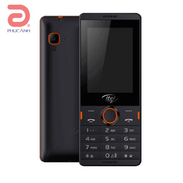Itel IT 5020 (Black)- 2.4Inch/ 2 Sim