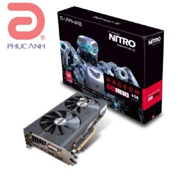 Sapphire NITRO RX 480 8G D5 OC (AMD Radeon/ 8Gb/ DDR5/ 256Bit)