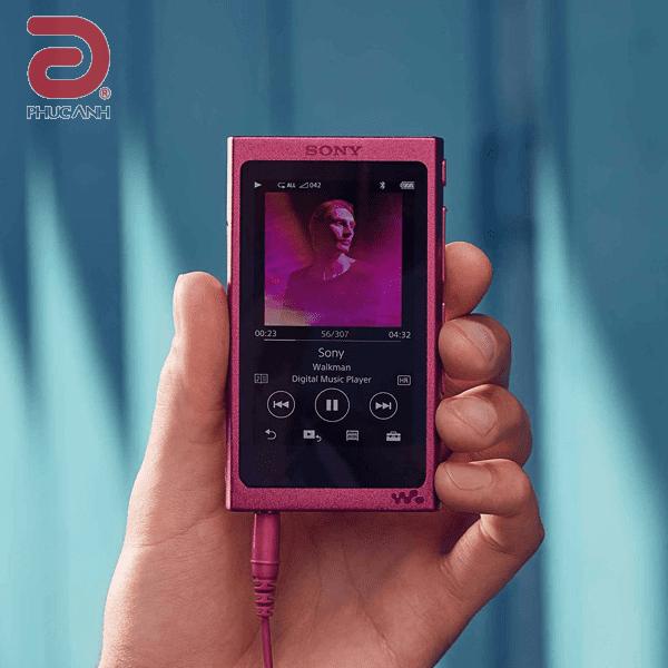 Máy nghe nhạc MP4 Sony NW NW-A35 - Hồng