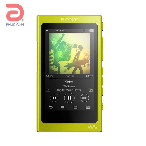 Máy nghe nhạc MP4 Sony NW NW-A35 - Vàng Chanh