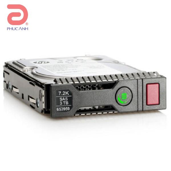 Ổ cứng máy chủ HP 3Tb 7200rpm 6Gbps SAS 3.5Inch (652766-B21)