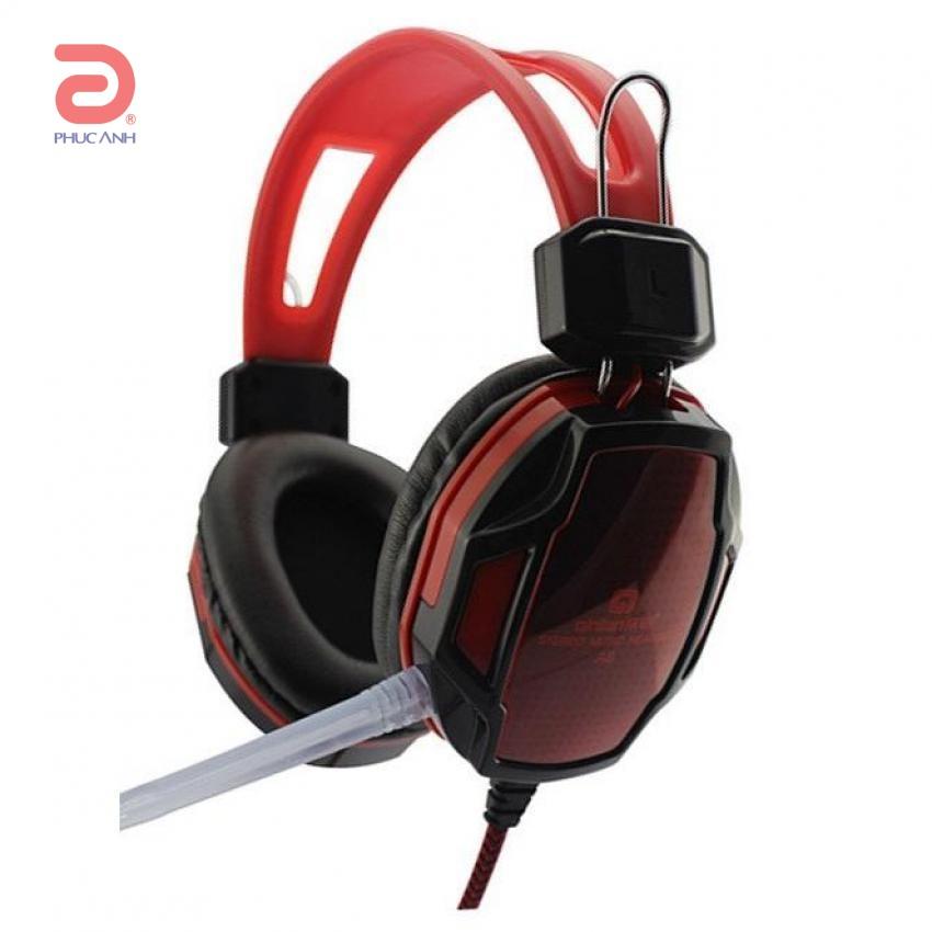Tai nghe Qinlian Qinlian A6 Gaming (Đỏ-đen/ Xanh-đen)