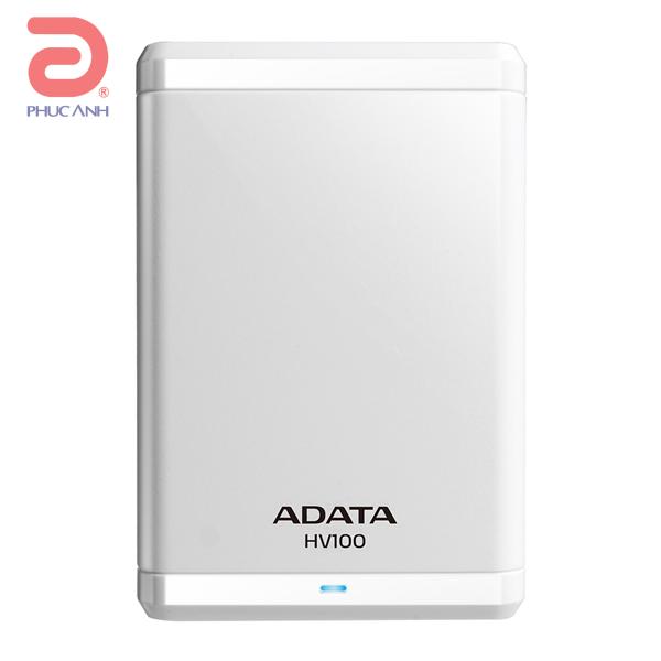 Ổ cứng di động Adata HV100 2Tb USB3.0 Trắng