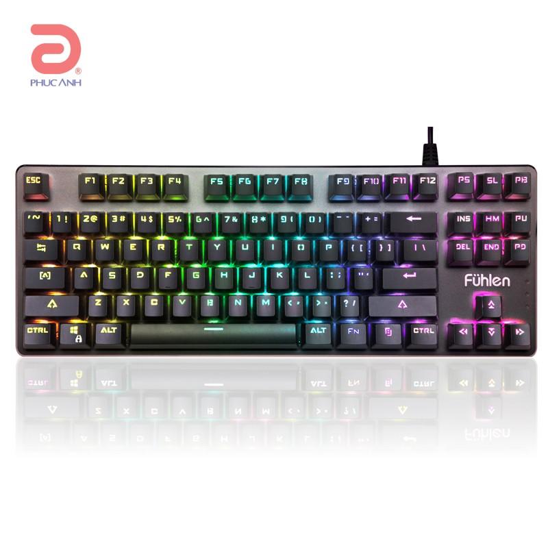 Bàn phím cơ Fuhlen SM681 RGB Gaming (USB, Có dây)