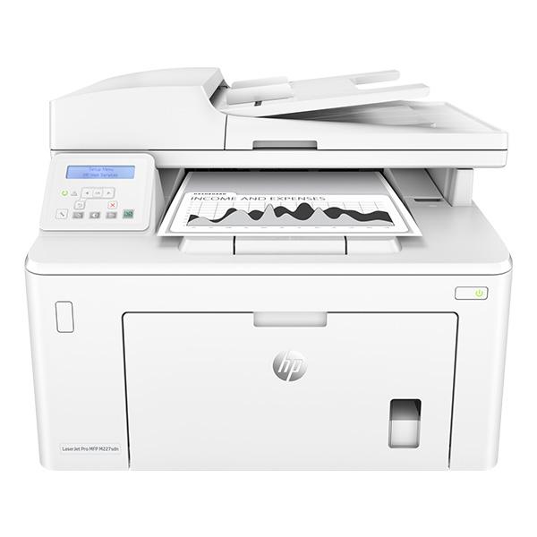 Máy in laser đen trắng HP đa chức năng Laser Jet Pro M227SDN - G3Q74A (in, copy, scan)