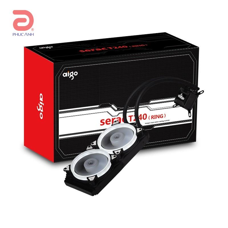 Tản nhiệt nước AIO AIGO SERAC T240 (RING)