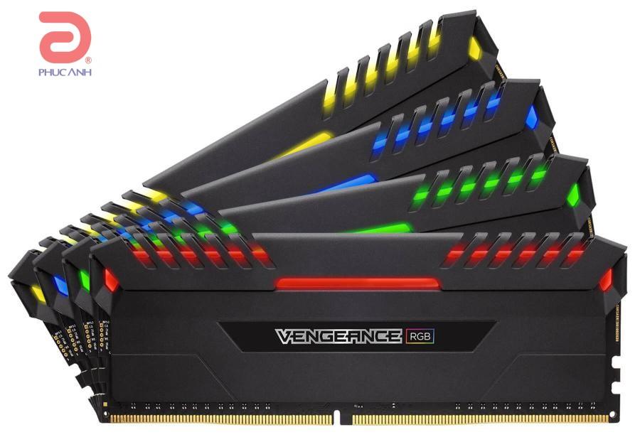 RAM Corsair Vengeance RGB 32Gb (4x8Gb) DDR4-3466- CMR16GX4M4C3466C16