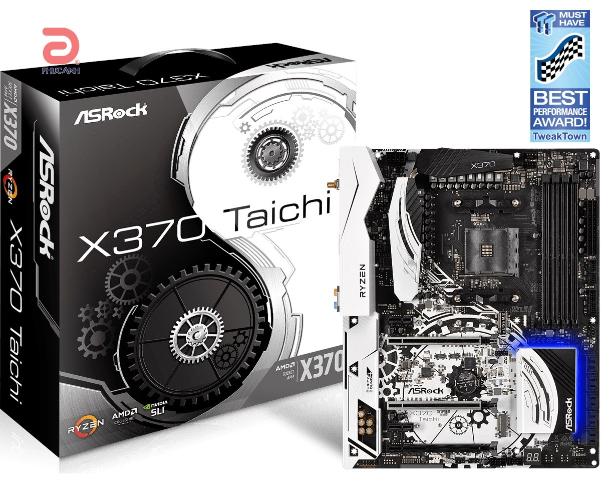 Main Asrock X370 Taichi (Chipset AMD X370/ Socket AM4/ VGA None)