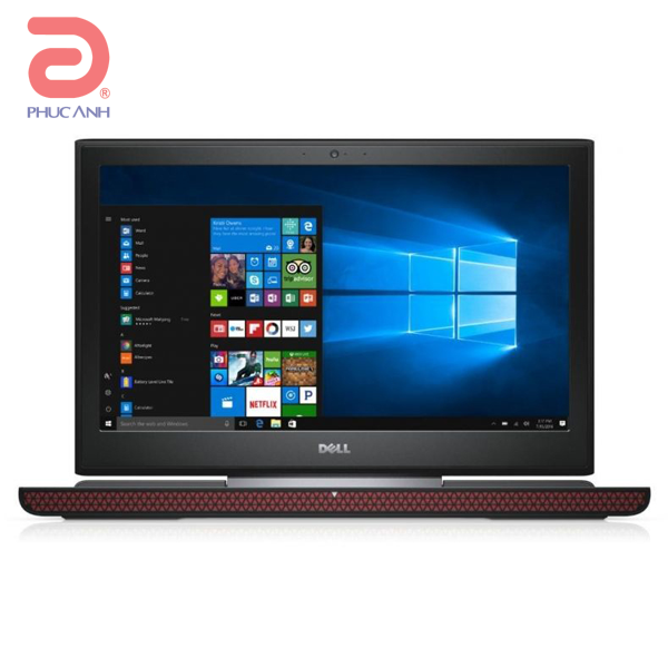 Laptop Dell Gaming Inspiron 7567A -P65F001-TI78504W10 (Black)- Màn hình FullHD