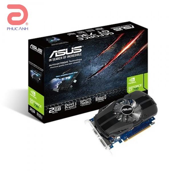 VGA Asus GT730-FML-2G (NVIDIA Geforce/ 2Gb/ DDR5/ 64Bit)