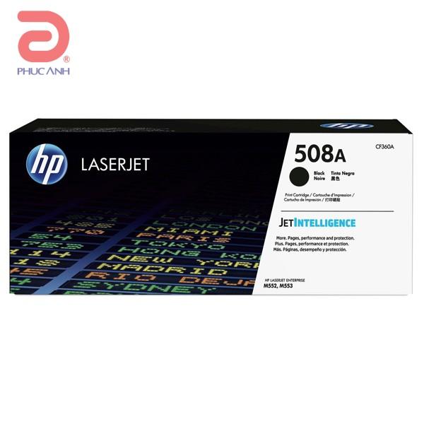 Mực hộp máy in laser HP CF360A  Black - Dùng cho máy in HP M553DN