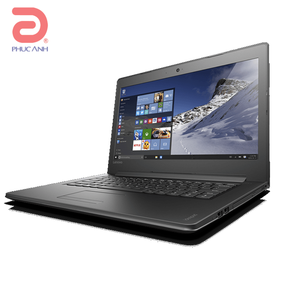 Laptop Lenovo Ideapad 310 14IKB 80TU00C7VN (Black)- Mỏng, nhẹ