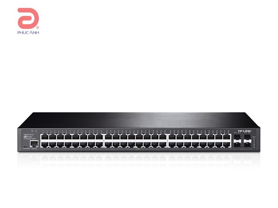 Thiết bị chia mạng TP-Link T2600G-52TS
