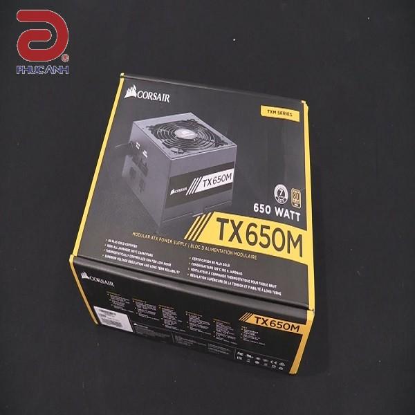 Nguồn Corsair TX650M 650W -80 Plus Gold