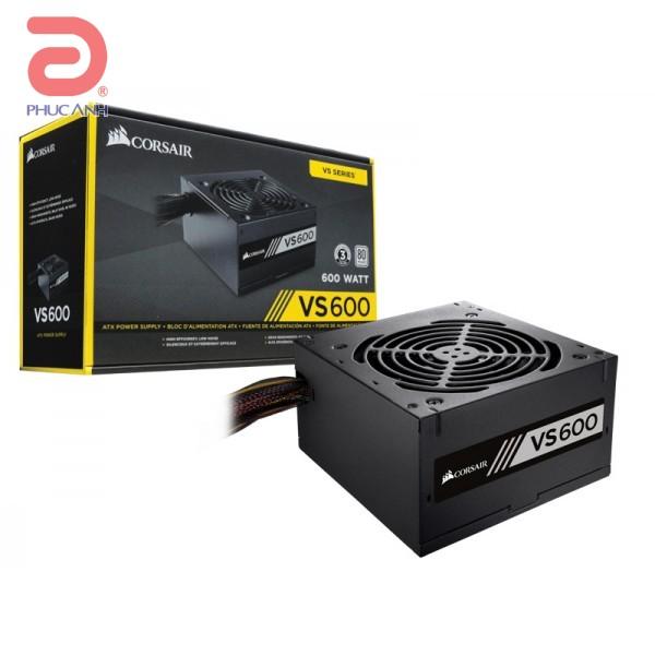 Nguồn Corsair VS600 600W -80 Plus