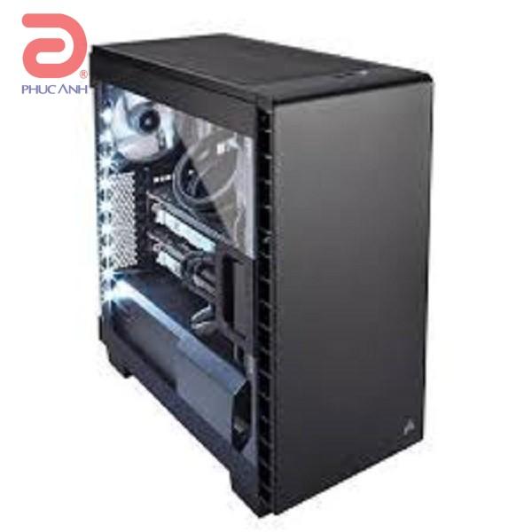 """Vỏ máy tính Corsair Carbide Series™ 400C - Đen  (EATX (12"""" x 10.6""""), ATX, MicroATX, Mini ITX)"""