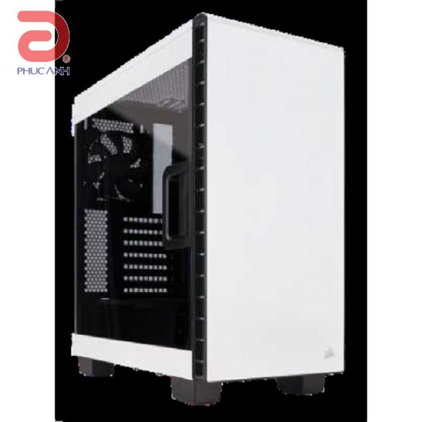 """Vỏ máy tính Corsair Carbide Series™ 400C - Trắng  (EATX (12"""" x 10.6""""), ATX, MicroATX, Mini ITX)"""